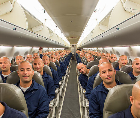 This Guy Captured a 100 Clone Selfie in the Cabin of an Airplane | All things about Photography | Scoop.it