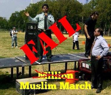 Million Muslim March falls 999,900 Short   Politics   Scoop.it