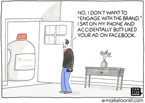"""""""Engage With The Brand"""" cartoon 