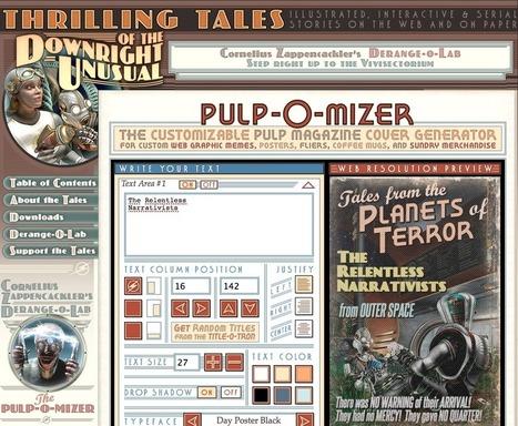 Caisse à liens – PULP-O-MIZER – illustrer vos parties Pulp et SteamPunk - Ambiances Jdr | Jeux de Rôle | Scoop.it