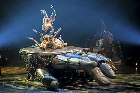 BUILT BY BUSKERS - Cirque de Soleil's New 'Kurios' a cautionary tale | STREET POP | Scoop.it