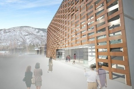 Aspen Art Museum, Designed by Shigeru Ban Architects | sustainable architecture | Scoop.it