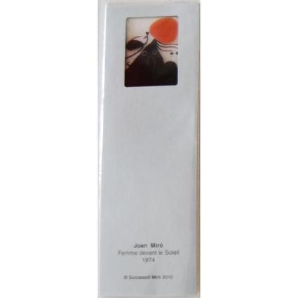 Marque Page Femme devant le Soleil - Collection Miro - Muse&Home | L'actu culturelle | Scoop.it
