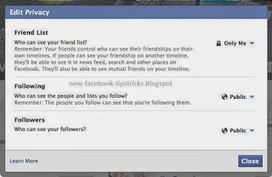 How To hide mutual friends on Facebook « New Facebook Tips Tricks | New Facebook Tips Tricks | Scoop.it