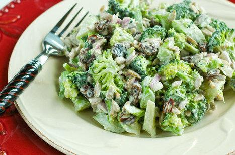 Raw Food Recipe: Broccoli Raisin Salad —Raw Food Rawmazing Raw Food | RawFoodRecipes | Scoop.it