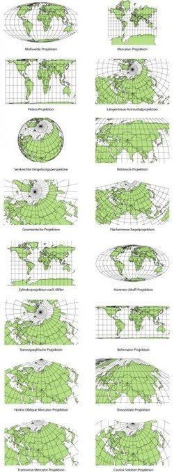 Cartographic Anomalies: How Map Projections Have Shaped Our Perceptions of the World | Educational Data - Visualizations - Infographics | Scoop.it