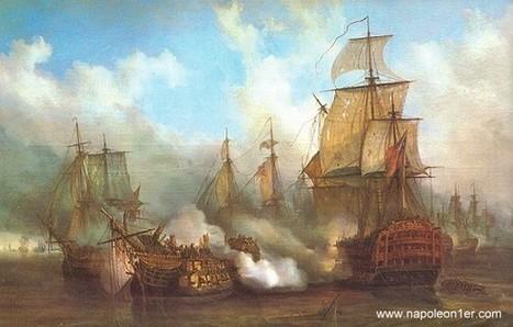21 octobre 1805 - Bataille de Trafalgar   Racines de l'Art   Scoop.it