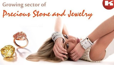 Growing sector of precious stone and jewelry   Manufacturers Directory in India   Scoop.it