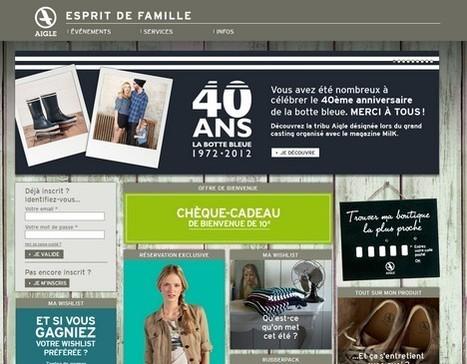 Aigle met le web2store au coeur de sa stratégie de fidélisation | La TV connectée et le commerce by JodeeTV | Scoop.it