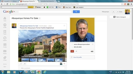 Creating and Sharing a Photo Gallery on Google Plus | Albuquerque Real Estate | Scoop.it
