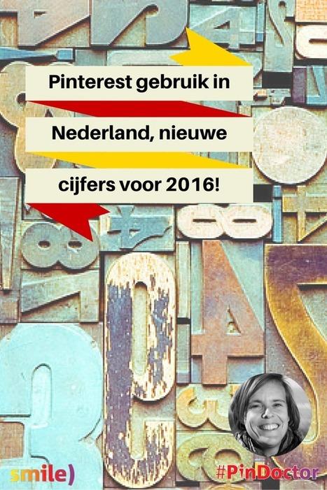 Pinterest gebruik in Nederland, nieuwe cijfers voor 2016!Smile) Social Media | Pinterest tips & more | Scoop.it