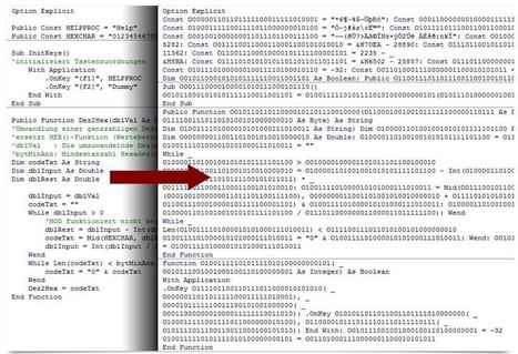 VBA obfuscation - Excel Liberation   desktop liberation   Scoop.it