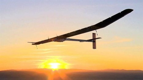 Solar-powered plane takes off for flight across U.S. | enjoy yourself | Scoop.it
