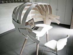 Woven Desk by Bram Vanderbeke | Furniture Design | Scoop.it