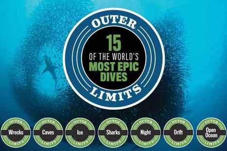 Outer Limits: 15 of the World's Most Epic Dives | DiverSync | Scoop.it
