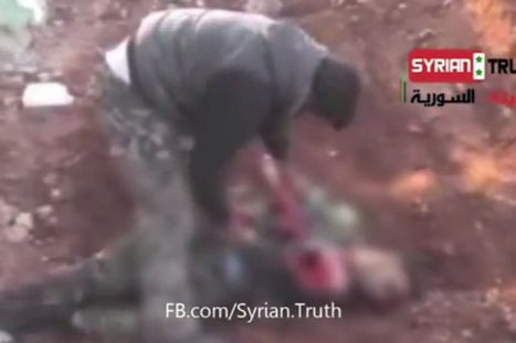Syrian rebel eats the HEART of army soldier in latest civil war atrocity | All ANZACS are heroes | Scoop.it