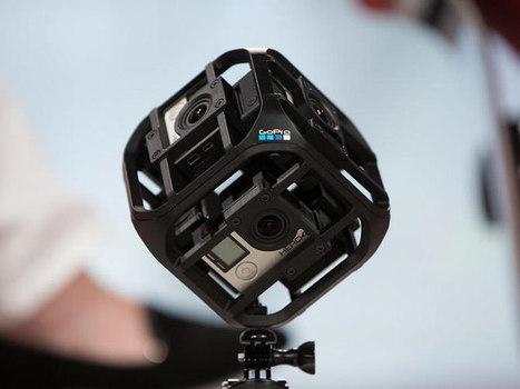 GoPro : vidéo 360°, réalité virtuelle et drones - CNET France | Clic France | Scoop.it