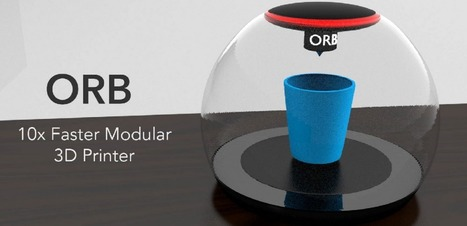 15-Year-Old Unveils ORB 3D Printer & New Print Code  — 10 Times Faster Than Traditional Machines | 3D Printing | Scoop.it