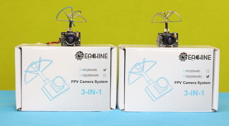 Eachine TX01 and TX02 micro FPV camera review | Quadcopter Flyers | Quadcopter Flyers | Scoop.it