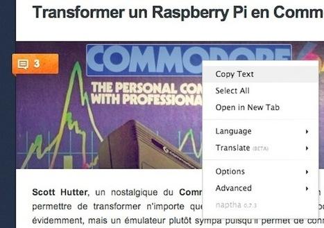 Copier du texte à partir d'une image grâce à cette extension pour Chrome | Libertés Numériques | Scoop.it
