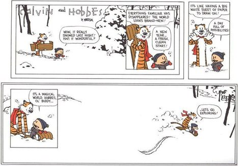 Five Life-Altering Philosophies from Calvin and Hobbes. | Good News For A Change | Scoop.it