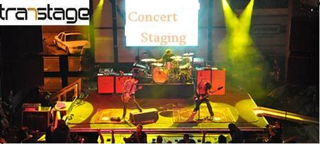 Staging for Concert | Transtage - Australia's Leading Staging Equipment Supplier | Scoop.it