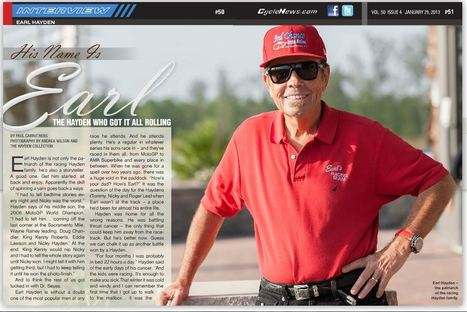 His Name Is Earl - The Hayden who got it all rolling | Cycle News 2013 Issue 04 Jan 29 | Ductalk | Scoop.it