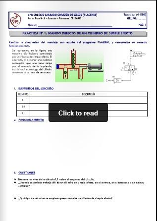 Prácticas FluidSim® - Neumática 4 ESO | tecno4 | Scoop.it
