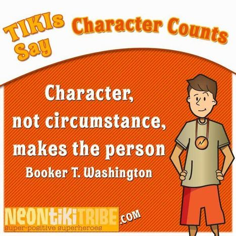 The TIKIs care about Character - how about you? | Dyslexia & LD Discovery | Scoop.it