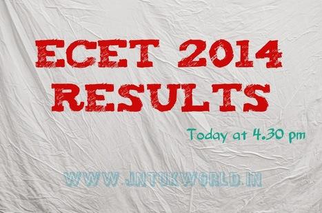 AP ECET  2014 Resutls Available at 4:30pm | jntukworld for jntuk fast updates | Scoop.it
