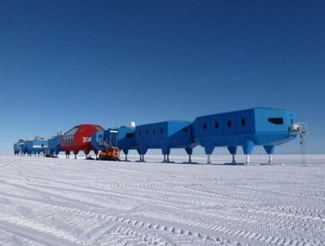 Antarctic research station that can walk | ARCHIresource | Scoop.it
