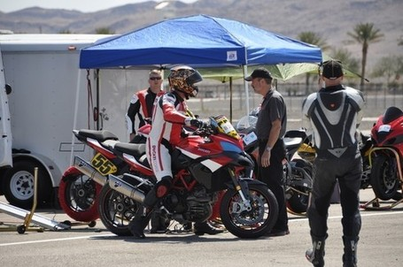SpiderGrips | Pikes Peak Multistradas on the track at Las Vegas Speedway | Ducati Community | Ductalk | Scoop.it