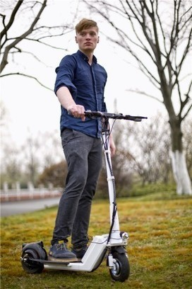 Show off Your Love in the New Era with Airwheel Intelligent Power 2 Wheel Electric Scooter | Press_Release | Scoop.it