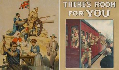 Massive collection of British recruitment posters discovered in attic | First World War History | Scoop.it
