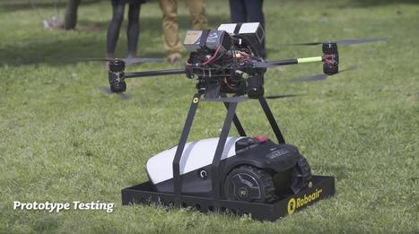Robomow RoboAir : un drone pour transporter votre tondeuse | Une nouvelle civilisation de Robots | Scoop.it