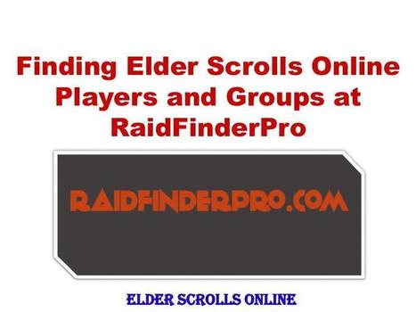 Finding Elder Scrolls Online Players and Groups 1 | Entertainment & Sports | Scoop.it