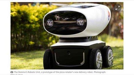 Vous en rêviez (ou pas) :Domino's va tester un robot livreur de pizzas en Nouvelle-Zélande, capable de livrer dans un rayon de 20 km | Management & Business | Scoop.it