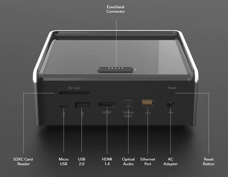 EzeeCube is a Modular XBMC Media Hub with Up to 9TB Storage (Crowdfunding) | Embedded Systems News | Scoop.it