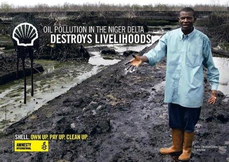 New Evidence Reveals Shell Wildly Underreported Niger Delta Oil Spill | Geography Education | Scoop.it