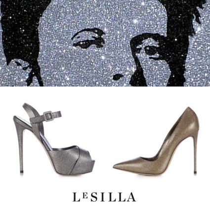 Le Silla Stardust Shoes: High Heels Shoes to Ziggy Sturdust/David Bowie | Le Marche & Fashion | Scoop.it