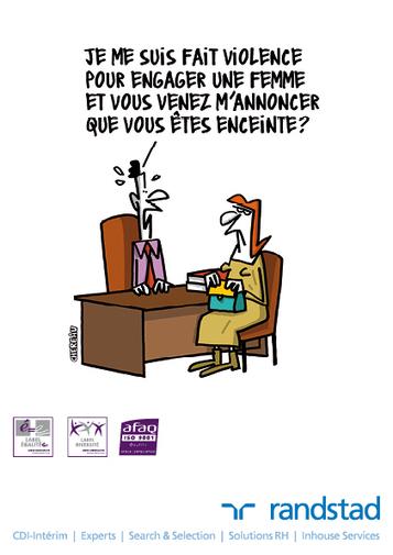 12 dessins humoristiques sur l'égalité professionnelle | DEVOTEAM Condition de travail | Scoop.it