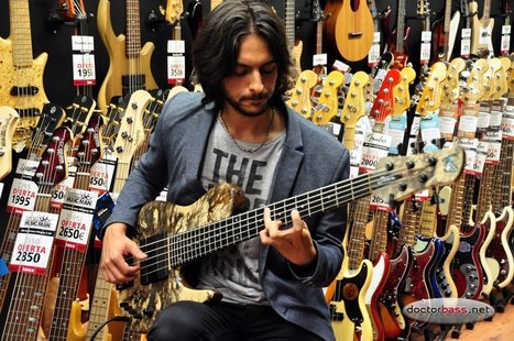 """Doctorbass net Recording Sessions Andrés Rotmistrovsky """"Love Theme Cinema Paradiso"""" - YouTube   writing, photography and bass playing   Scoop.it"""