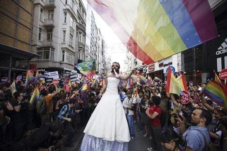 Gay pride en Turquie: des dizaines de milliers de manifestants défient Erdogan | Géopolitique de la Turquie | Scoop.it