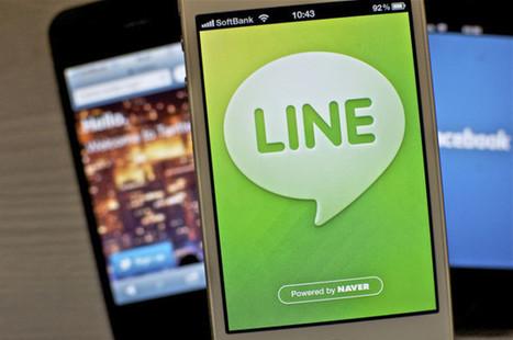 Line, le réseau social nippon qui pourrait bien faire basculer Facebook et Twitter   Digital   Scoop.it