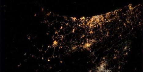 This Is What Gaza Looks Like From Space Right Now   Mr. Soto's Human Geography   Scoop.it