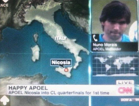 CNN says Nicosia is in Sicily, not Cyprus. Oops. | Personal blog of ... | Visit Sicily | Scoop.it
