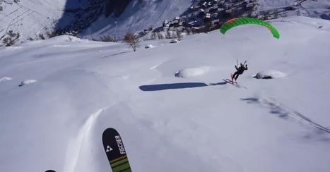 Speedriders make it look easy in mesmerizing new video   Speedriding   Scoop.it