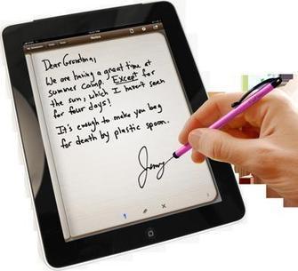 Adiós al papel: Tomar apuntes manuscritos y hacer ejercicios en el iPad | Aprender y educar | Scoop.it