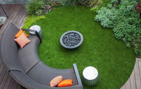 Gazon artificiel, 10 raisons d'essayer - My Little Jardin   Tout sur le Gazon Synthetique   Scoop.it