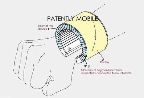 Samsung travaille sur un smartphone flexible, qui se transforme en bracelet | Hightech, domotique, robotique et objets connectés sur le Net | Scoop.it